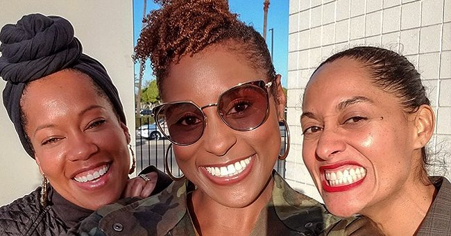 Tracee Ellis Ross, Regina King, and Issa Rae Are All Smiles as They Stun in Iconic Photo