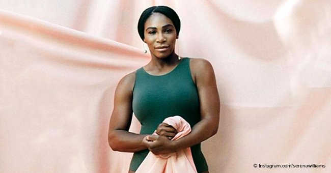 Serena Williams flexes her muscles, shows off curves in figure-hugging swimsuit for Allure Magazine
