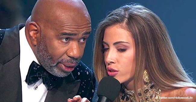 Miss Costa Rica sparks laughter after teasing Steve Harvey over infamous name mix-up