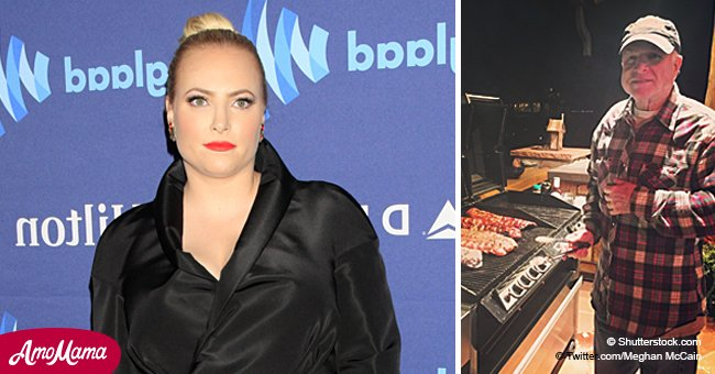Meghan McCain was shamed for publicly grieving her late father, but responded brilliantly