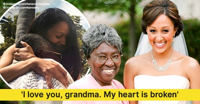 Tia and Tamera Mowry mourn their grandmother's death with touching tributes