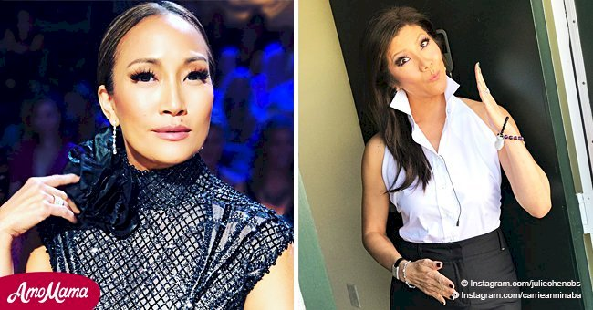 'DWTS' judge Carrie Ann Inaba takes over from Julie Chen as 'The Talk' host