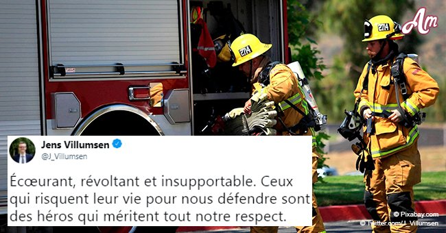 Paris: Grâce à sa combinaison, un pompier survit miraculeusement après avoir été aspergé d'acide sulfurique