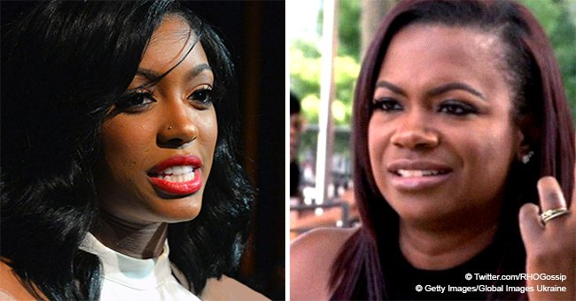 Porsha Williams slams Kandi Burruss after she and her fiancé were removed by security at party