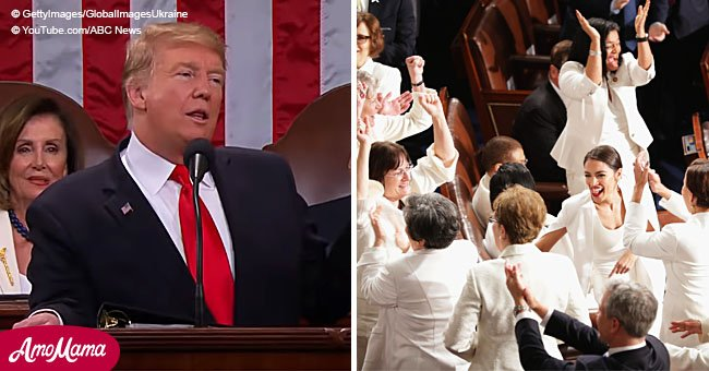 Donald Trump received standing ovation during SOTU - even Democrats stood up to applaud