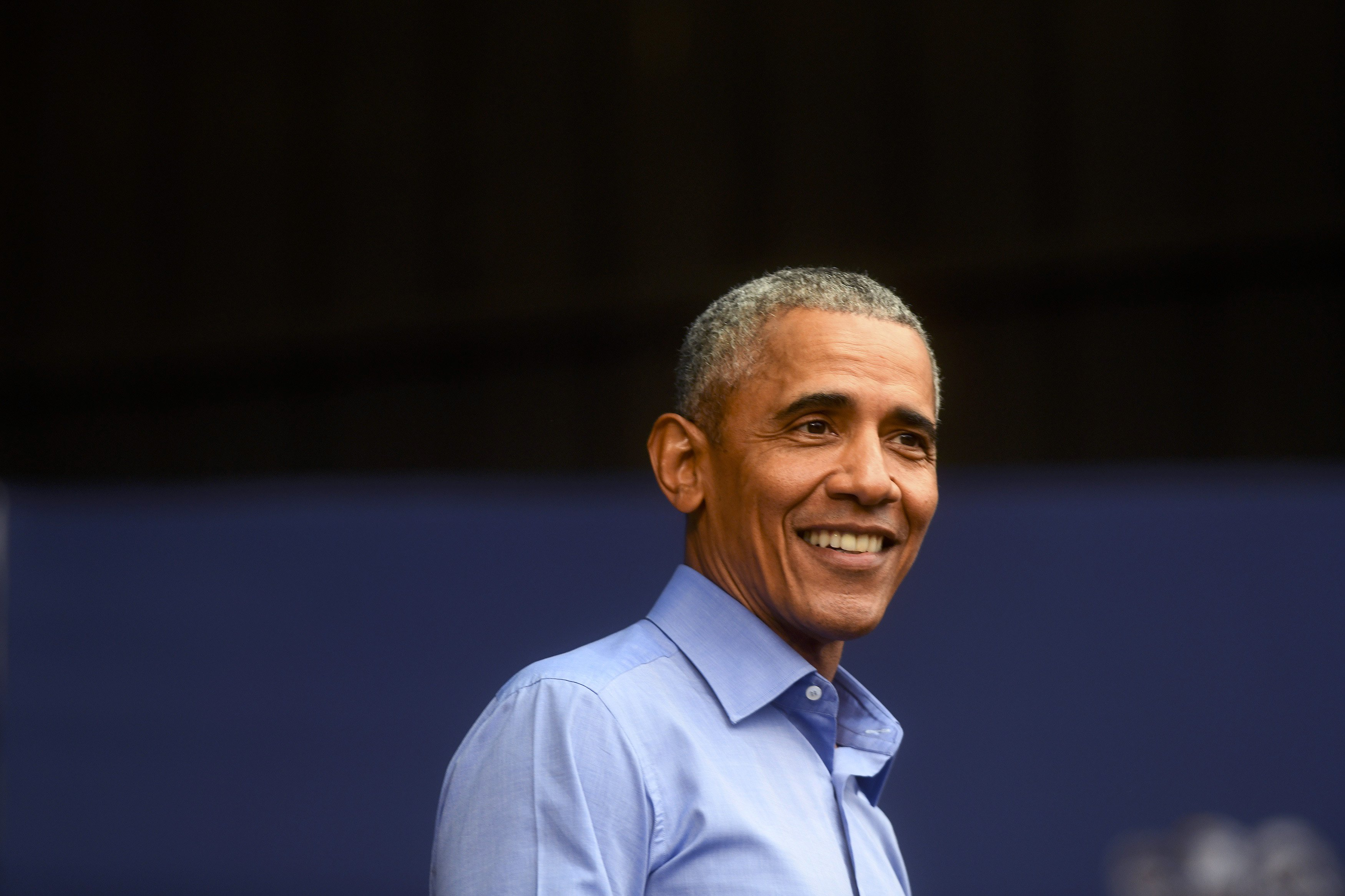 Barack Obama speaks during a campaign rally for Senator Bob Casey (D-PA) and Pennsylvania Governor Tom Wolf on September 21, 2018.   Photo: GettyImages