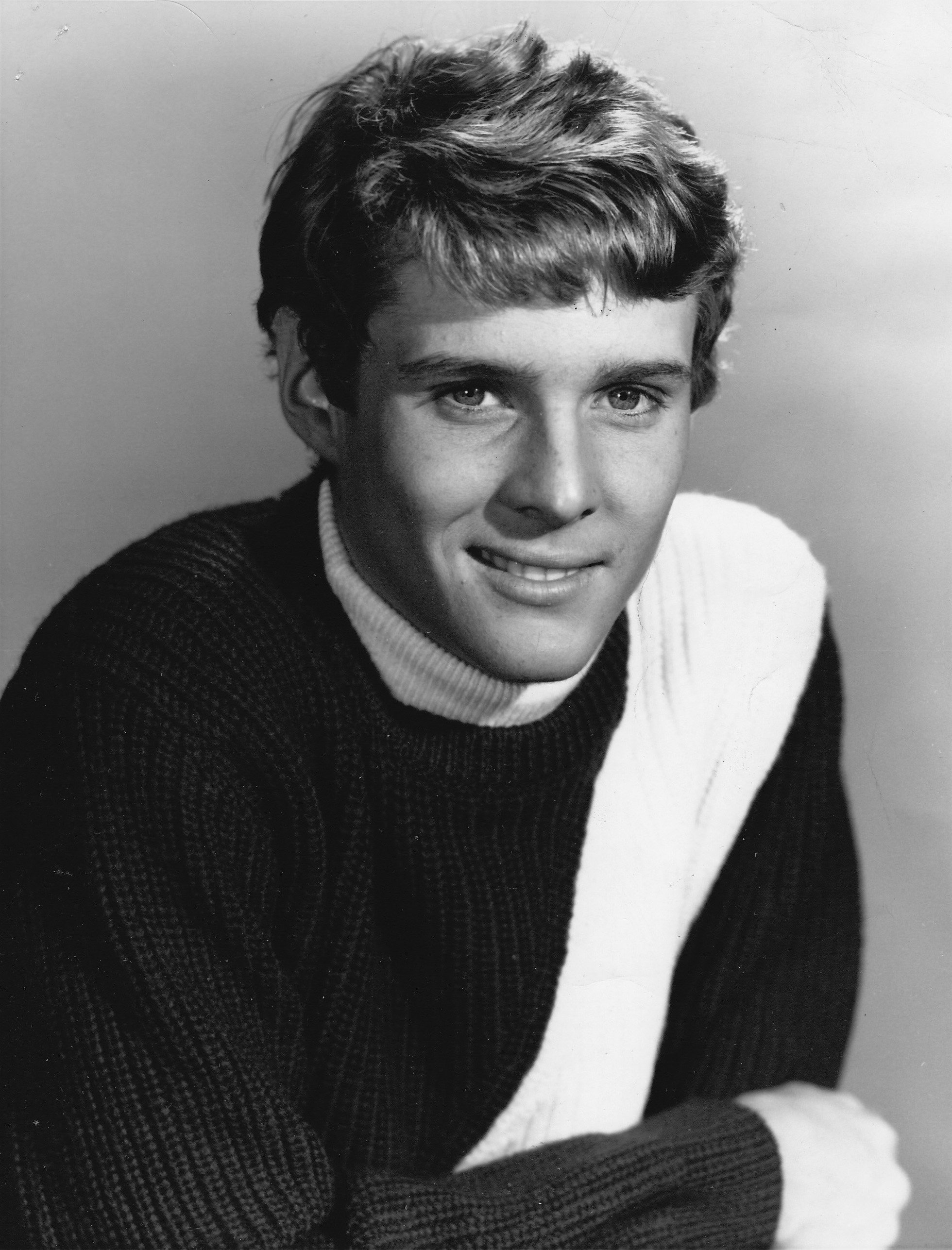 "Publicity photo of Jay North promoting his starring role on the television series ""Maya"" 