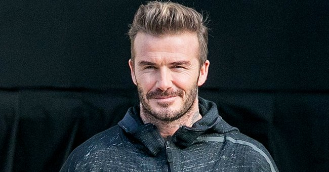 David Beckham Shares Adorable Pic with Daughter Harper after She Snuck into Their Bed at Night