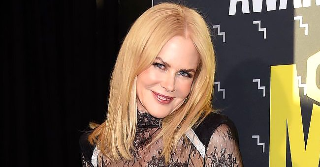Nicole Kidman Looks Stunning Posing a Chic White Gown — Fans Can't Stop Gushing Over Her Look