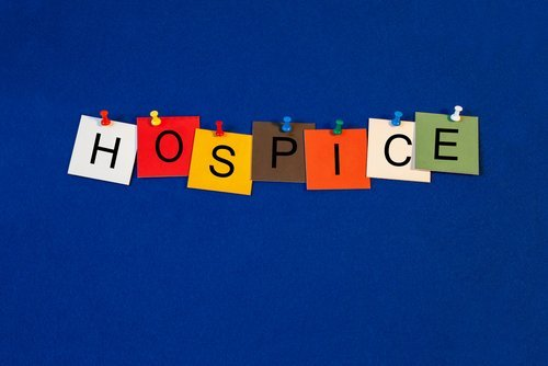 Hospice - sign for medical fitness and health care. | Source: Shutterstock.