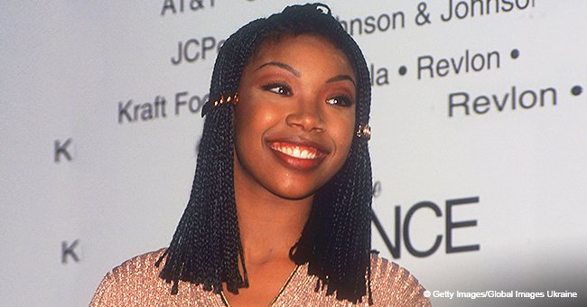 Brandy causes online uproar after photo shows she may have been wearing braid wigs back in the '90s
