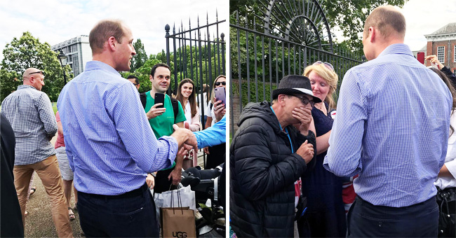 Prince William Personally Thanked Princess Diana's Fans Who Gathered at Kensington Palace to Mark Her Birthday