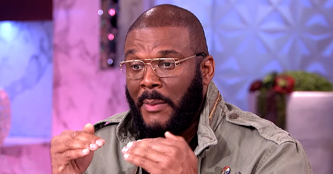 Tyler Perry Visits 'The Real,' Talks about Difficult Moment When He Had to Discipline His 4-Year-Old Son