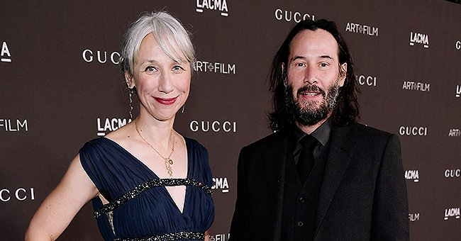 Keanu Reeves' Girlfriend Alexandra Grant Talks Being Gray and Why She Stopped Coloring Her Hair