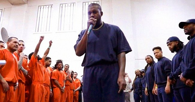 Kanye West Performed for Hundreds of Inmates at Harris County Jail in Texas with His Sunday Service Choir