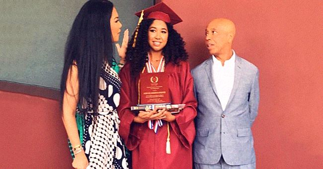 Kimora Lee Simmons, Ex Russell Celebrate Daughter Aoki's High School Graduation in Pics