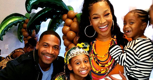 Stevie J and Mimi Faust from LHHATL Reunite to Celebrate Daughter Eva's 10th Birthday with Family