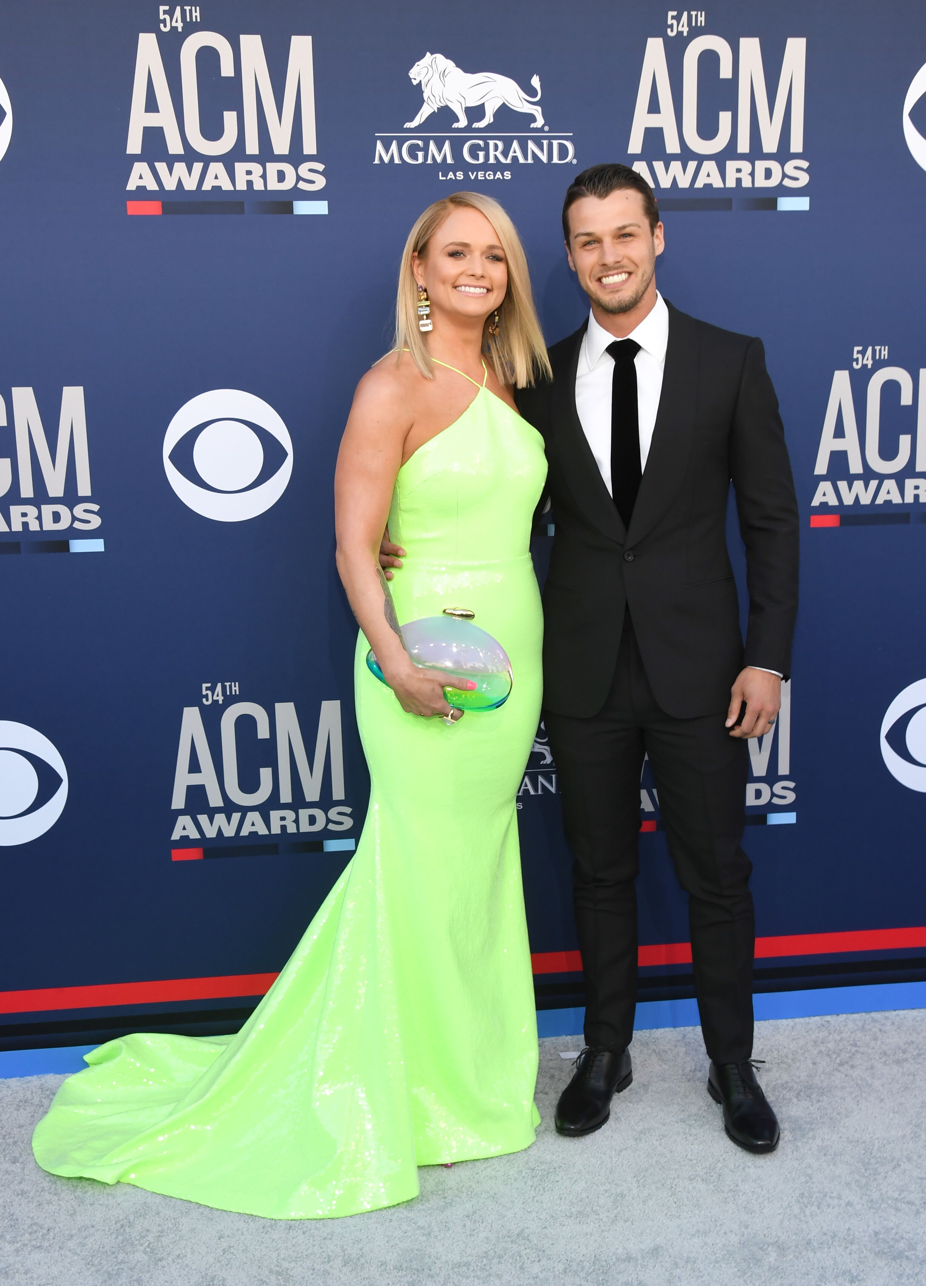 Miranda Lambert and Brendan McLoughlin a the 54th Academy Of Country Music Awards at MGM Grand Garden Arena on April 07, 2019 in Las Vegas, Nevada | Photo: Getty Images