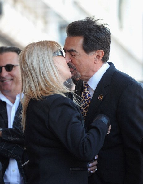 Arlene and Joe Mantegna attend the star ceremony honoring Joe with the 2,438th star on the Hollywood Walk of Fame. | Source: Getty Images