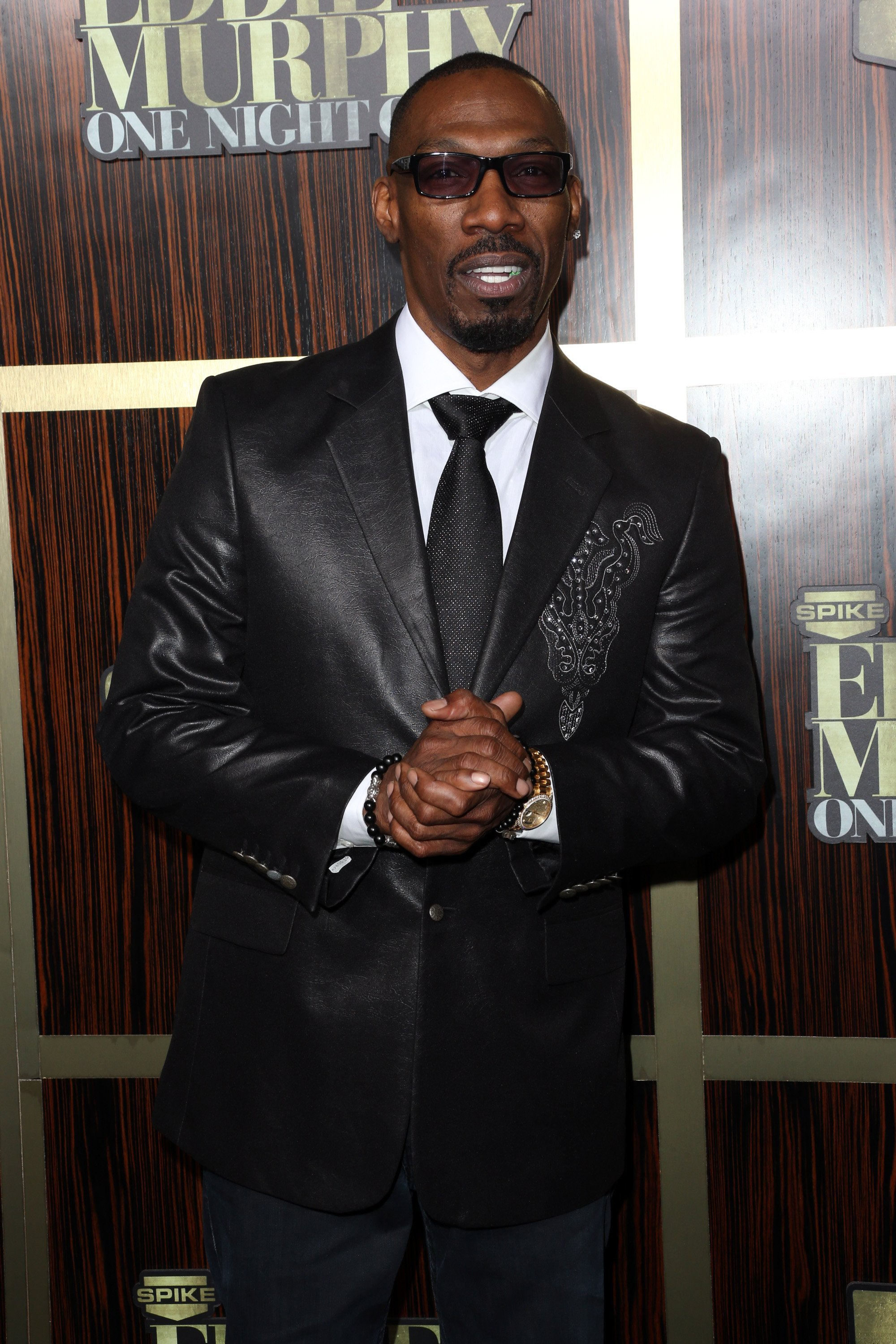 "r Charlie Murphy arrives at Spike TV's ""Eddie Murphy: One Night Only"" at the Saban Theatre on November 3, 2012. 