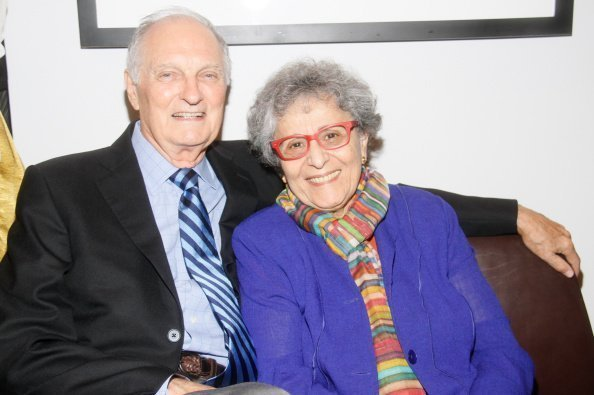 Actor Alan Alda and Arlene Alda attend the Premiere Screening Of The HBO Special Alan Alda: YoungArts MasterClass With Discussion By Alda And YoungArts Alumni on September 5, 2014 in New York City | Photo: Getty Images