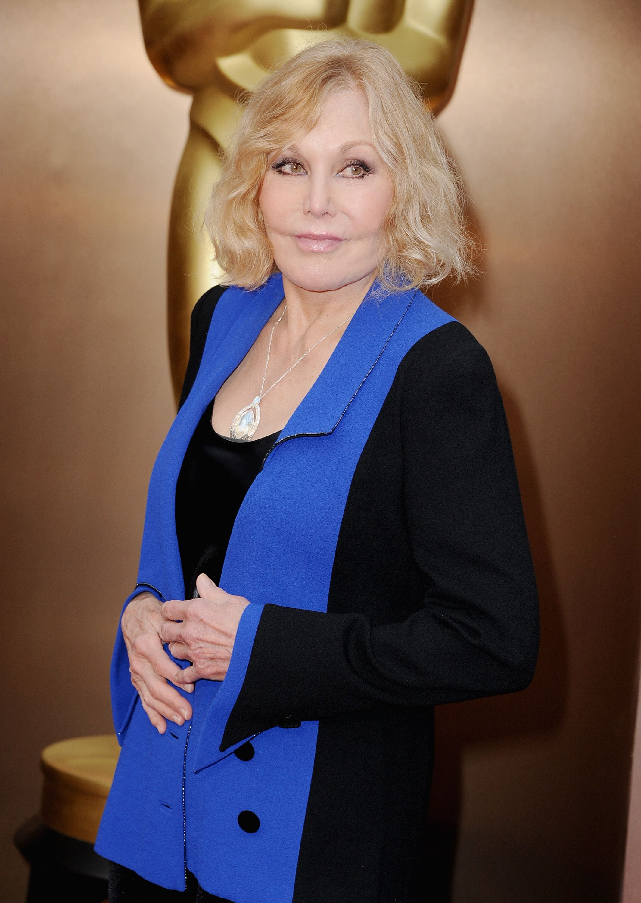 Kim Novak atthe Oscars held at Hollywood & Highland Center on March 2, 2014, in Hollywood, California   Photo:Steve Granitz/WireImage/Getty Images