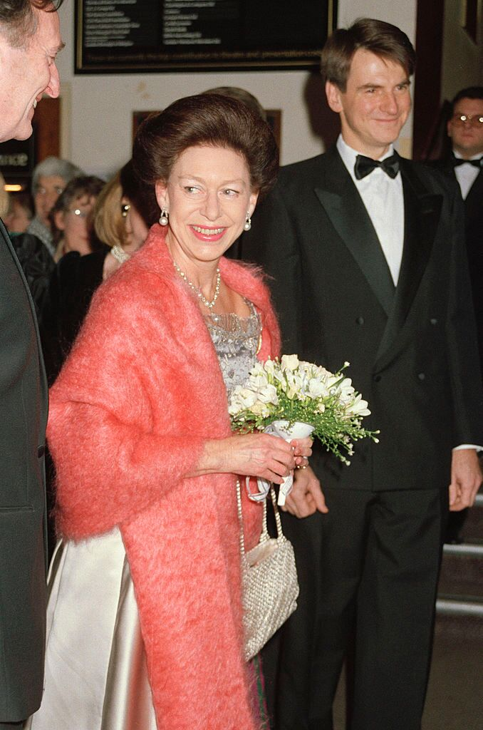 Princess Margaret at Sadler's Wells, 7th January 1991.  | Getty Images