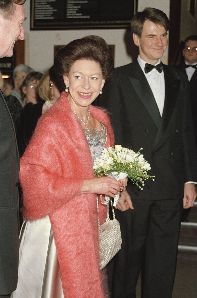 Princess Margaret at Sadler's Wells, on January 7, 1991. | Source: Getty Images.