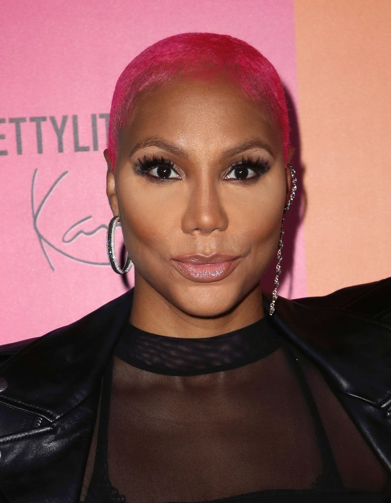 Tamar Braxton attending the PrettyLittleThing x Karl Kani event in May 2018. | Photo: Getty Images