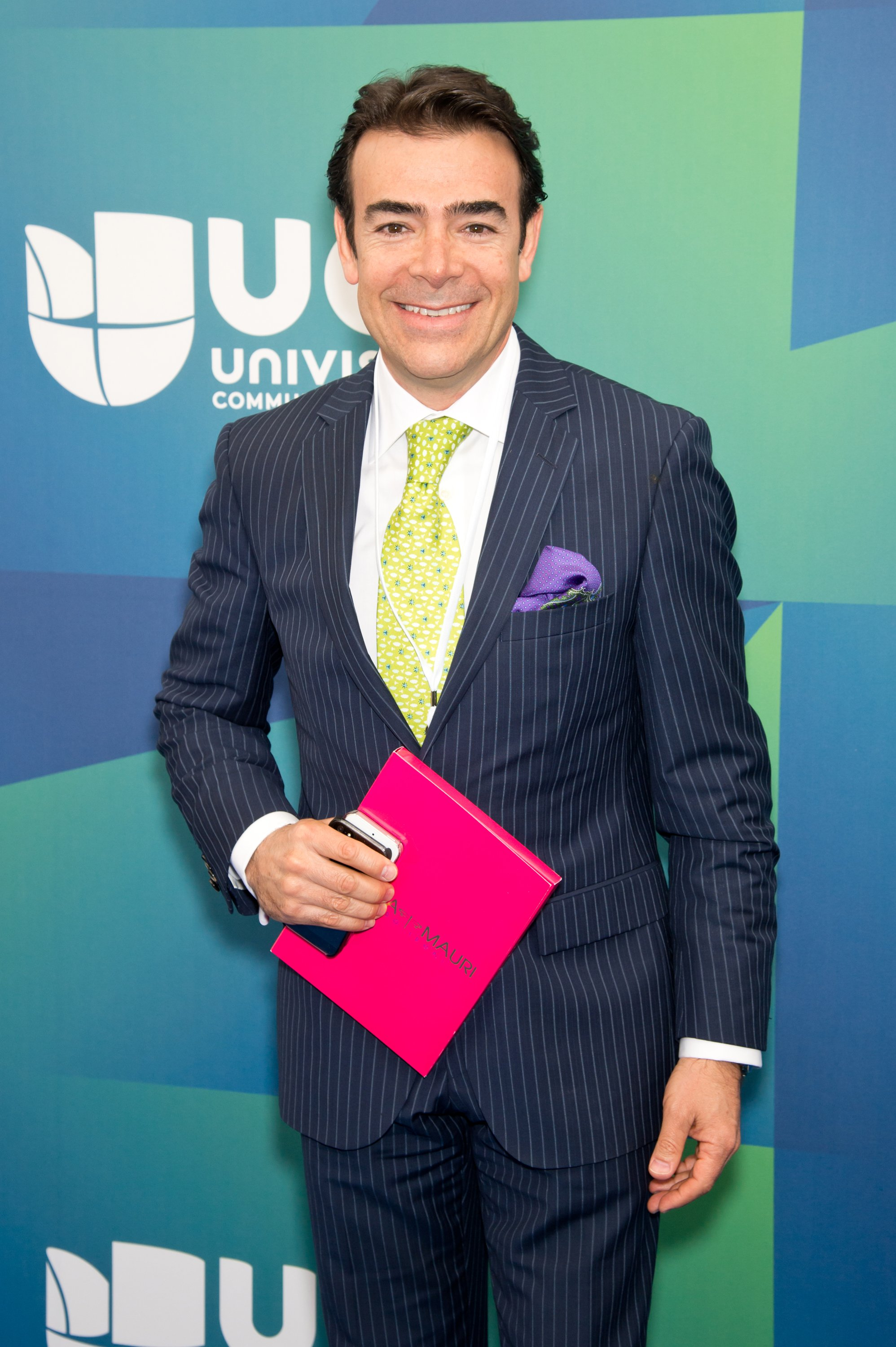 Tono Mauri attends the 2014 Univision Upfront at Gotham Hall on May 13, 2014 in New York City | Photo: Getty Images