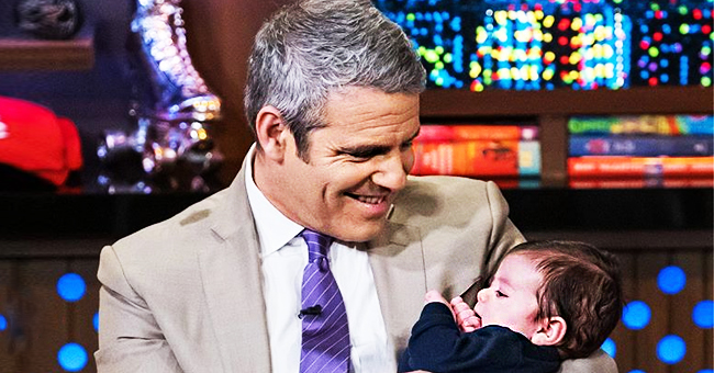 Andy Cohen Celebrates First Birthday as a Proud Dad Smiling with His Adorable Baby Son