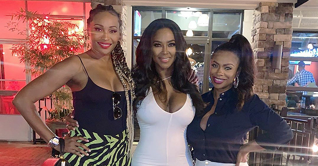 See Kenya Moore Flaunt Curves in Tight Dress 8 Months after Giving Birth