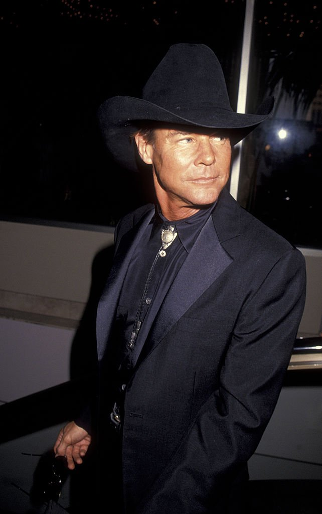 Jan-Michael Vincent attends Golden Boot Awards on August 21, 1993 at the Century Plaza Hotel in Century City   Photo: Getty Images