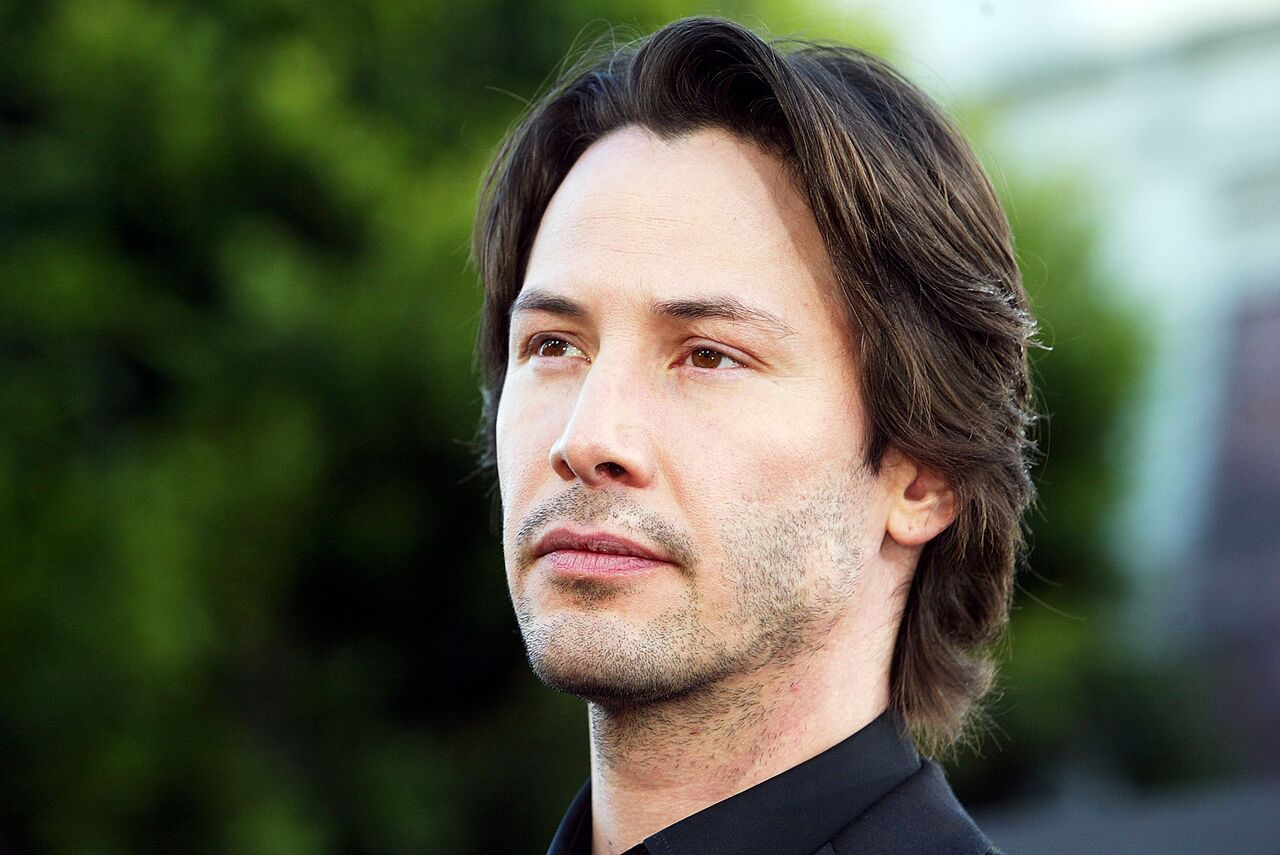 Keanu Reeves portrait. | Source: Getty Images