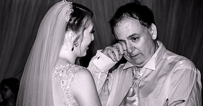 Bride Shared Touching Photo of Her Autistic Dad Wiping Away a Tear During Father-Daughter Dance