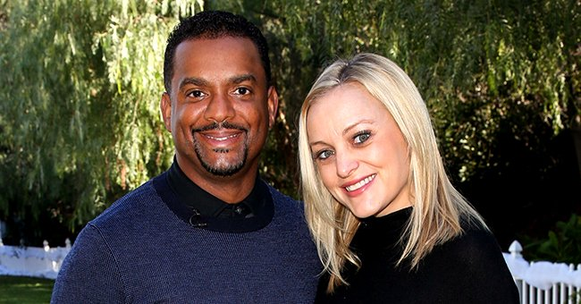 Alfonso Ribeiro's Wife Angela Shares New Pic of the Actor & Baby Daughter Ava at Her 1st Kids' Christmas Party