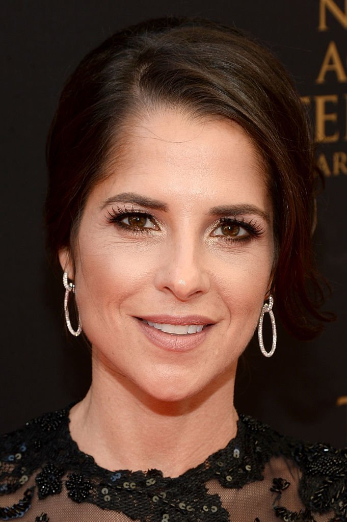 Kelly Monaco walks the red carpet at the 43rd Annual Daytime Emmy Awards at the Westin Bonaventure Hotel  | Getty Images