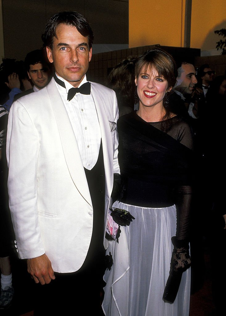Mark Harmon and Pam Dawber during The 15th Annual People's Choice Awards at Disney Studios in Burbank, California, United States. | Source: Getty Images