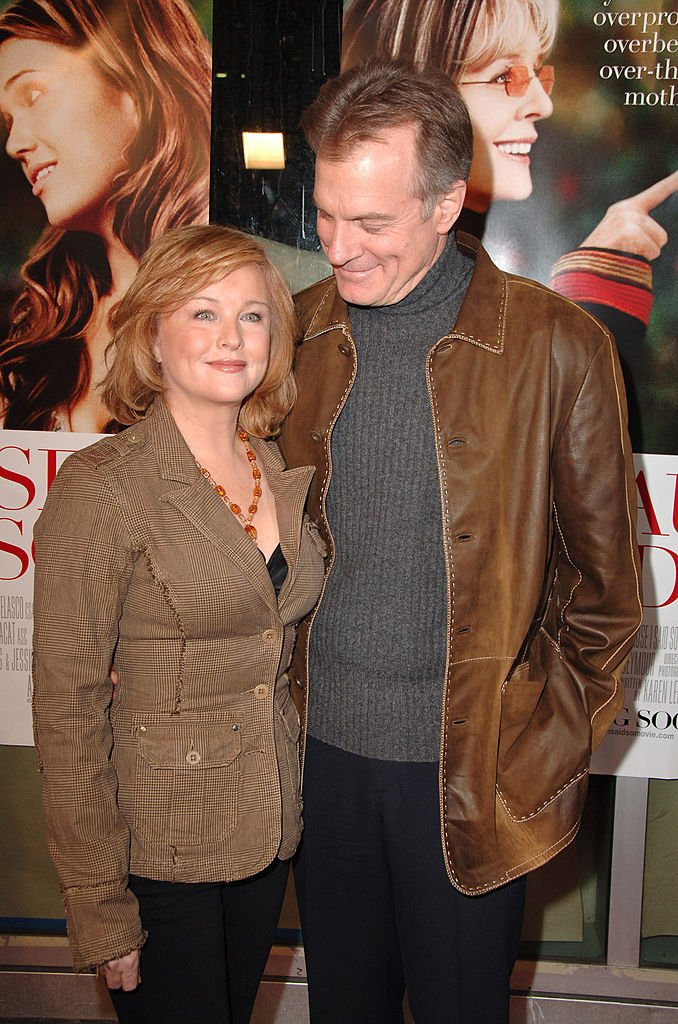 Stephen Collins and Faye Grant at Arclight Theater in Los Angeles | Photo: Getty Images