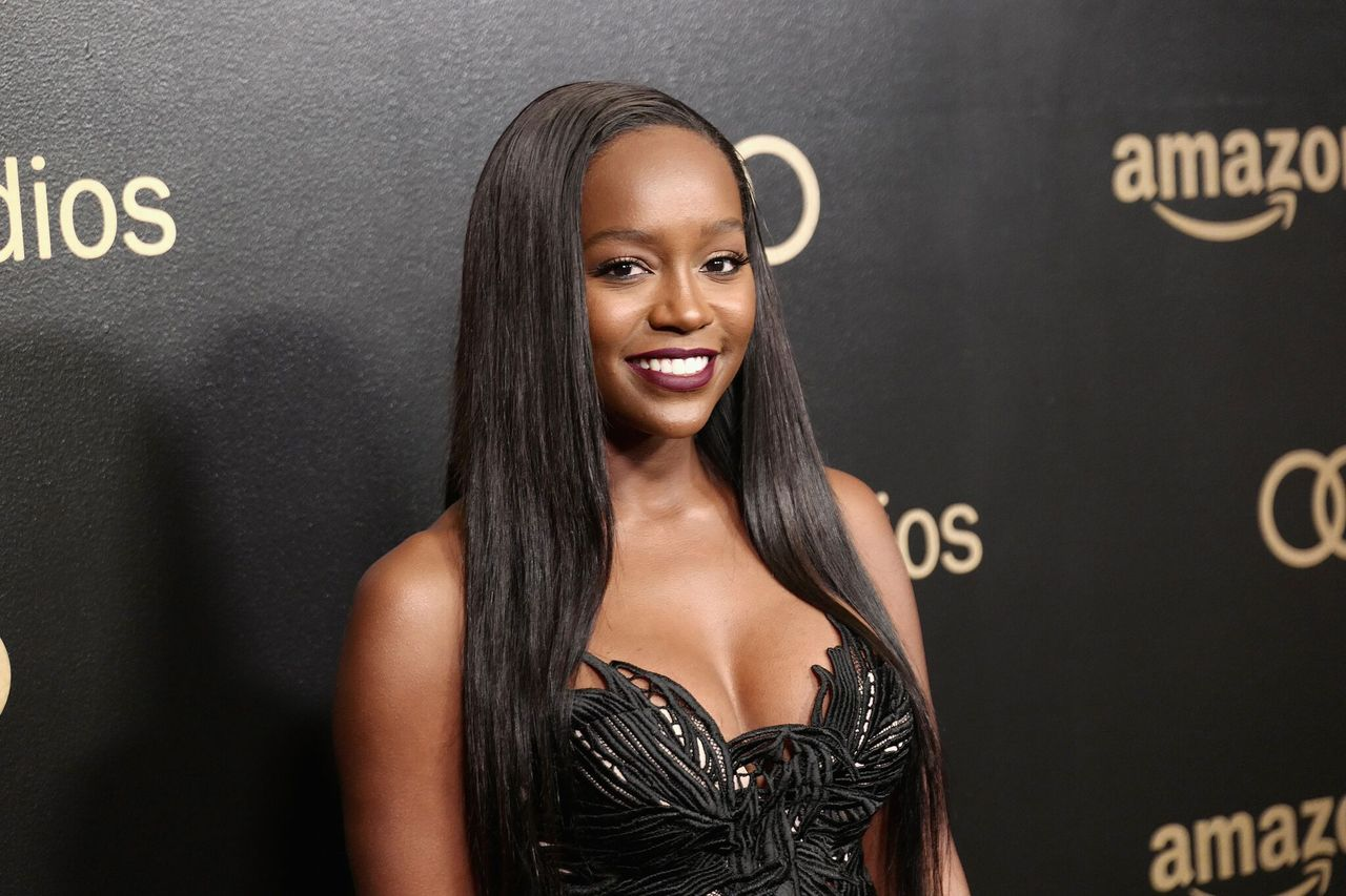 Aja Naomi King attends Amazon Studios' Golden Globes Celebration at The Beverly Hilton Hotel on January 7, 2018 in Beverly Hills, California. | Source: Getty Images