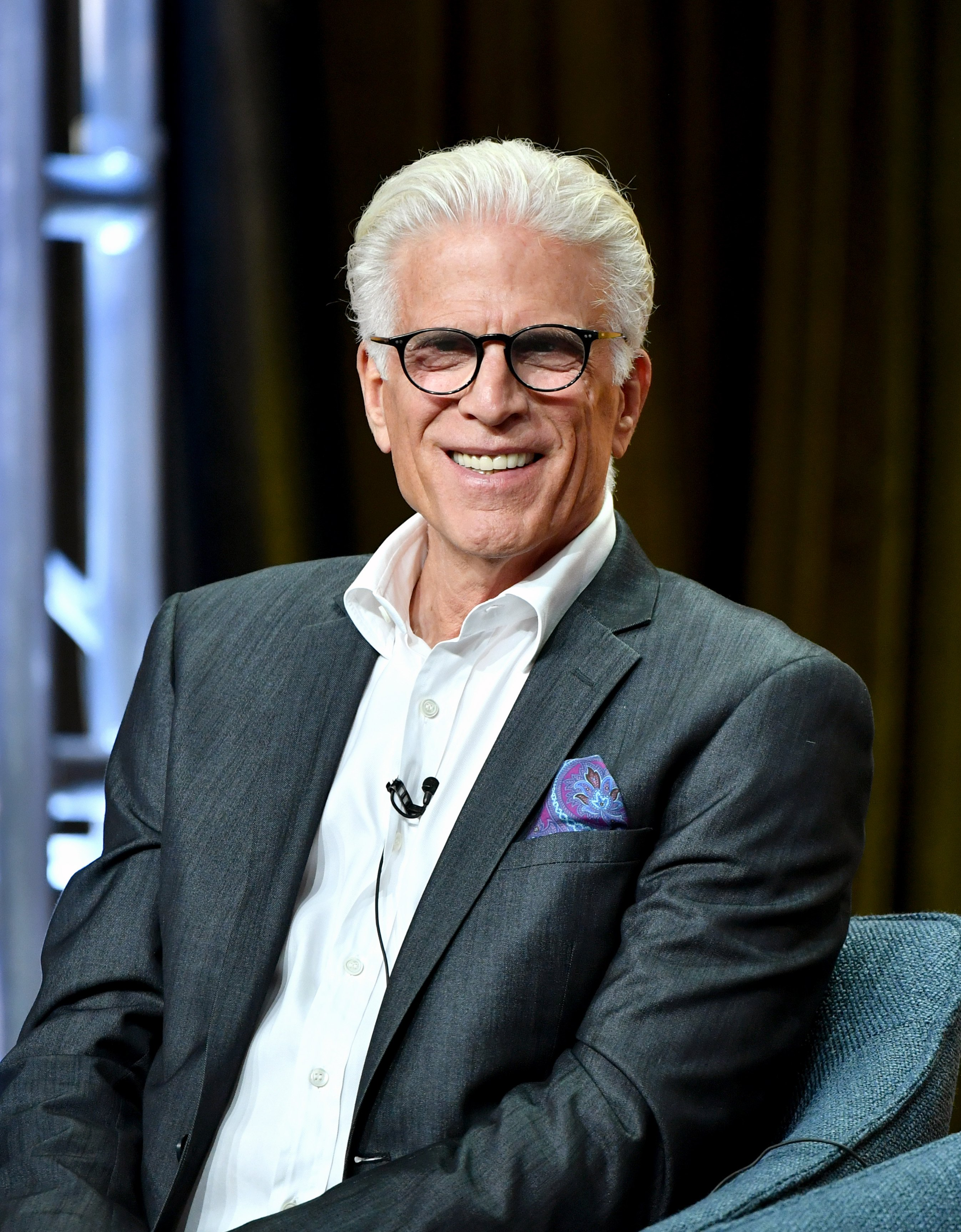 Ted Danson of 'The Good Place' speak during the NBC segment of the 2019 Summer TCA Press Tour at The Beverly Hilton Hotel on August 08, 2019 | Photo: GettyImages
