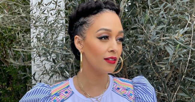 Tia Mowry Shares Photo of Her Dad & 2 Kids — Fans Say Her Son Cree Looks Just like His Grandpa