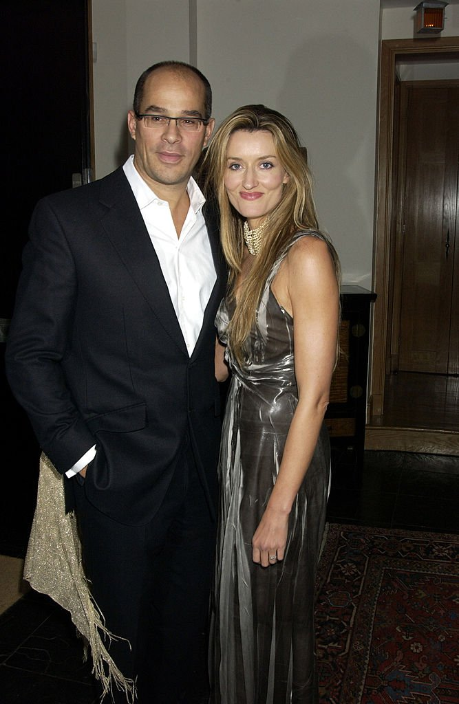 Natascha McElhone and husband Martin Hirigoyen Kelly attend the afterparty following on September 23, 2004 in London. | Source: Getty Images