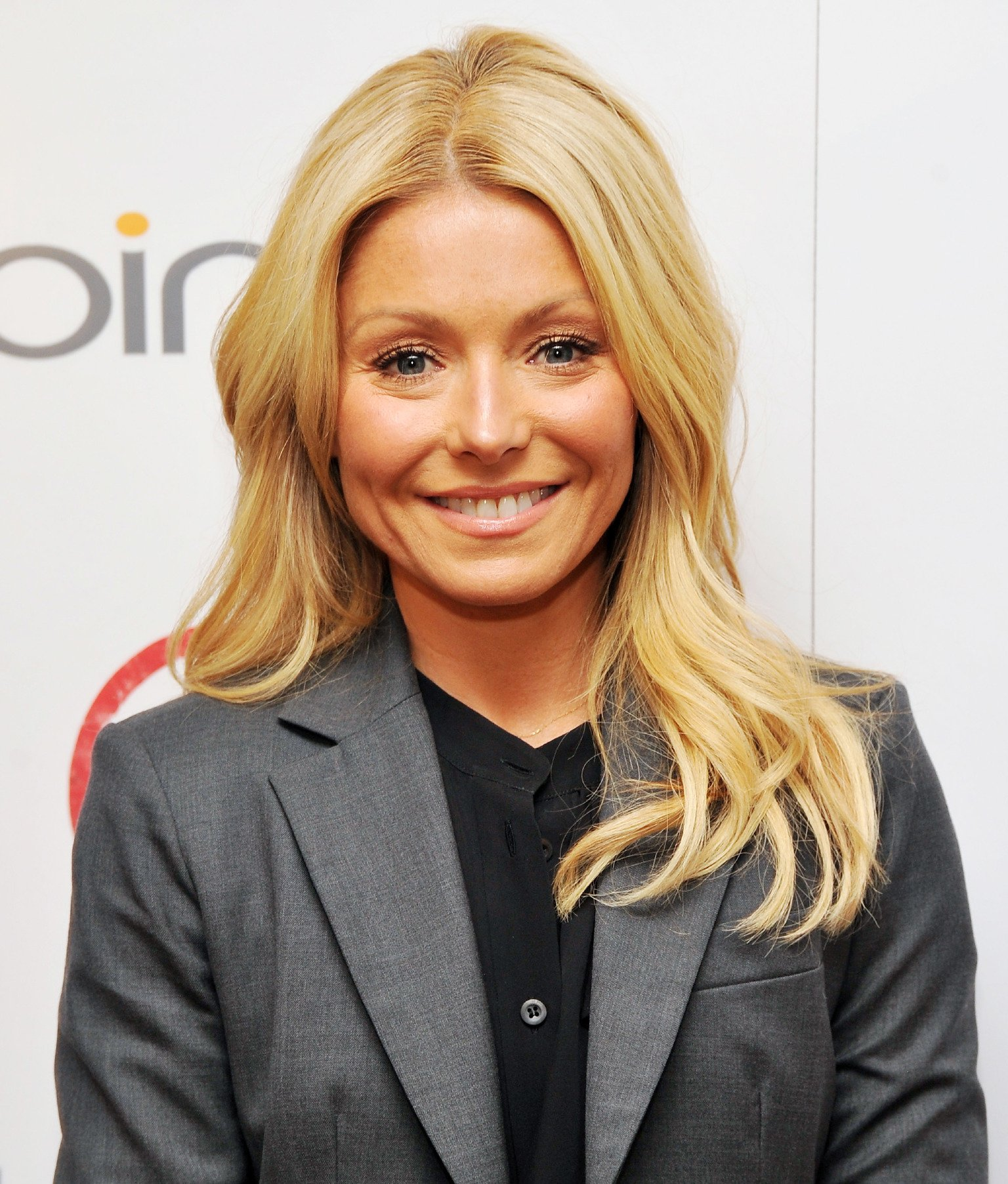 "TV personality Kelly Ripa attends The Weinstein Company & Bing screening Of ""Bully"" at Crosby Street Hotel on March 11, 2012 