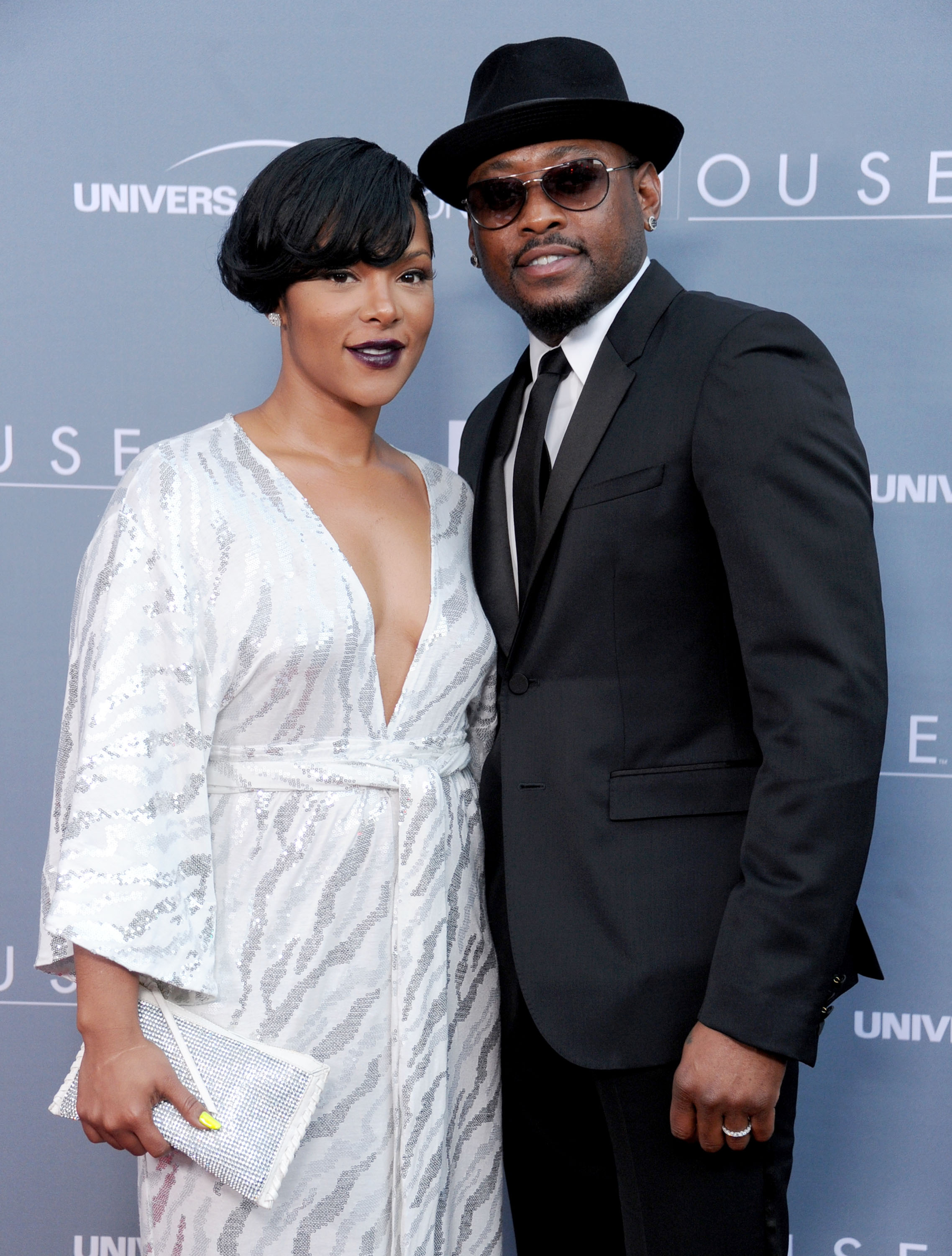 """Keisha and Omar Epps at the Fox Network's """"House"""" Series Finale Wrap Party on April 20, 2012 in Los Angeles, California.   Photo: Getty Images"""