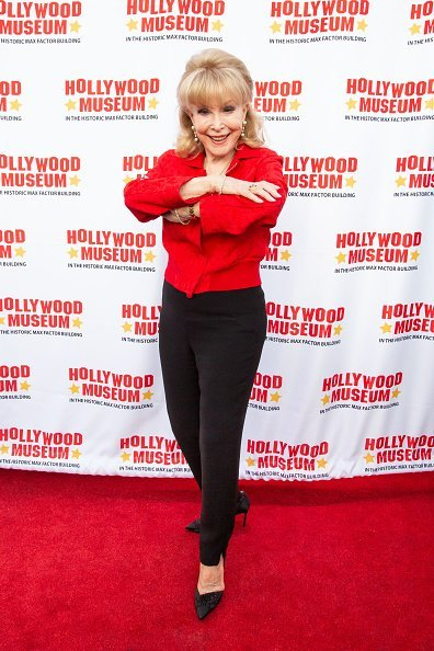 Barbara Eden at The Hollywood Museum on August 21, 2019 | Photo: Getty Images