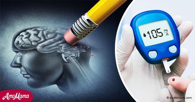 La diabetes podría ser responsable de encoger el cerebro en la mediana edad, según científicos
