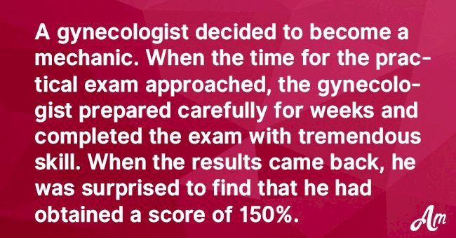 Joke: Gynecologist Decided to Change His Career but First He Has to Do a Test