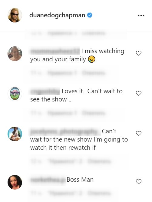Fans react to Duane Chapman possibly filming for a new TV show. | Photo: instagram.com/duanedogchapman/