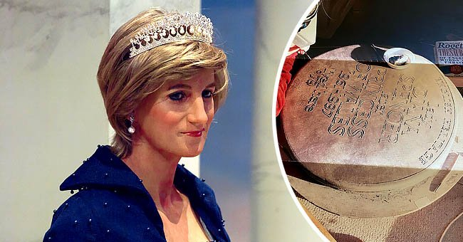 Diana Princess of Wales at the Madame Tussauds NY wax museum on September 16, 2017 in New York, the next image shows a plaque in progress in honor of her memory   Photo: Shutterstock and Instagram